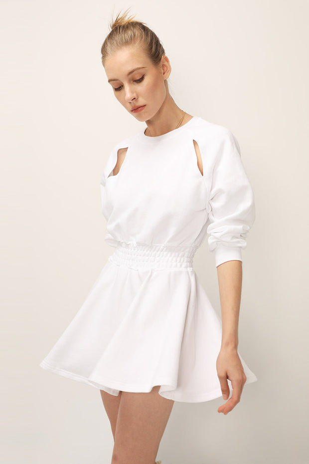 storets.com Bexley Cutout Sweat Dress