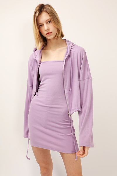storets.com Jayda Hoodie 2-Piece Dress Set