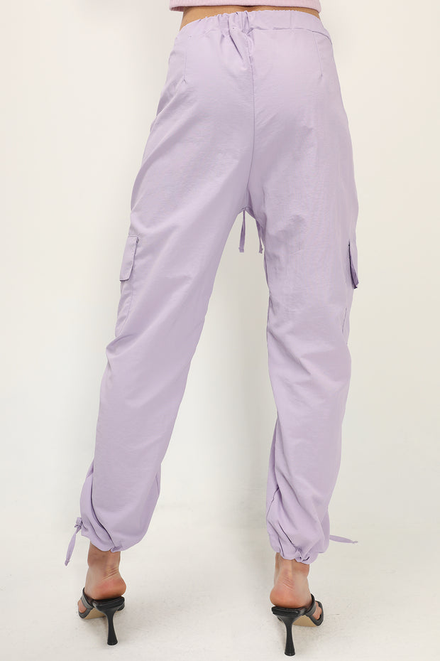 storets.com Charley Ruched Cargo Joggers
