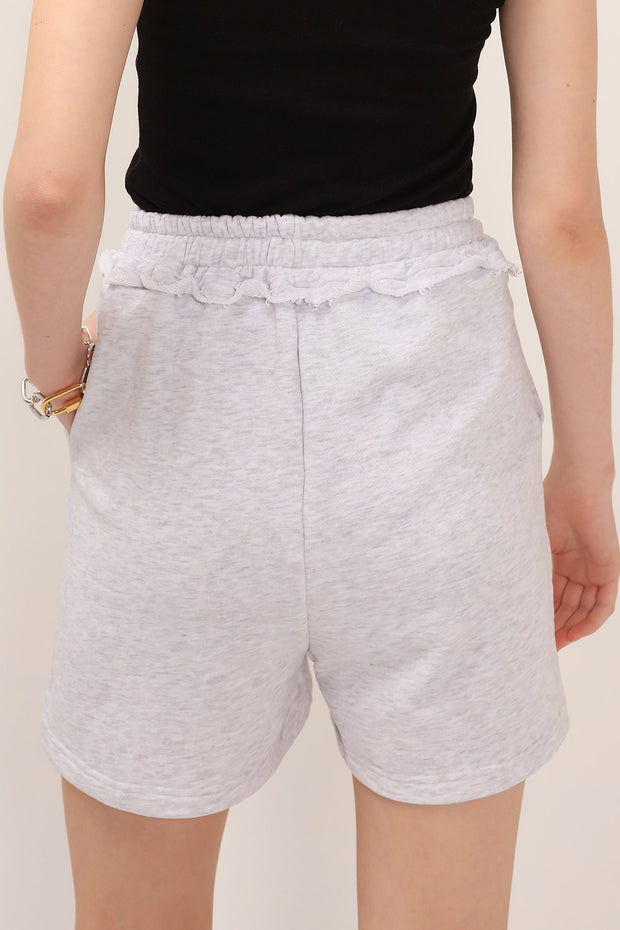 storets.com Eva Drawstring Sweat Shorts