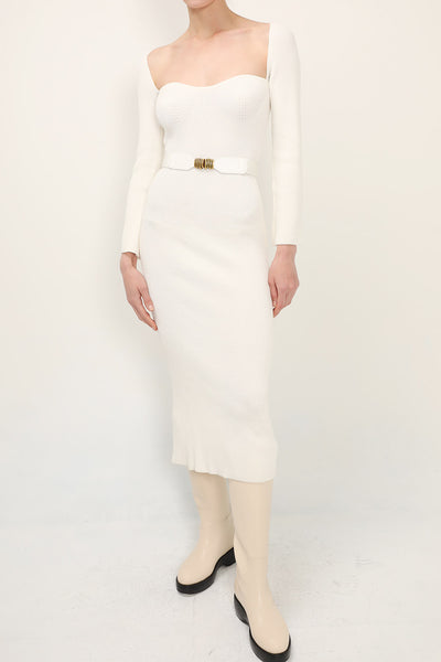 storets.com Olivia Ribbed Dress