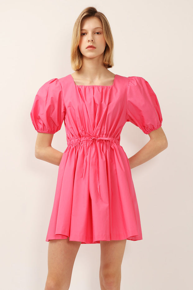 storets.com Julie Puff Sleeve Sweetheart Dress