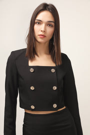 storets.com Miranda Square Neck Crop Jacket