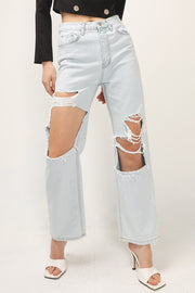storets.com Kenna Ripped Cutout Jeans