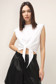 storets.com Annabella Padded Shoulder Top