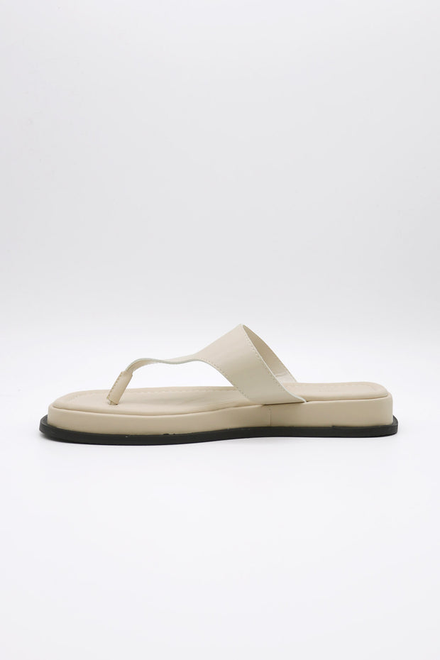 storets.com Pleather Toe Thong Sandals