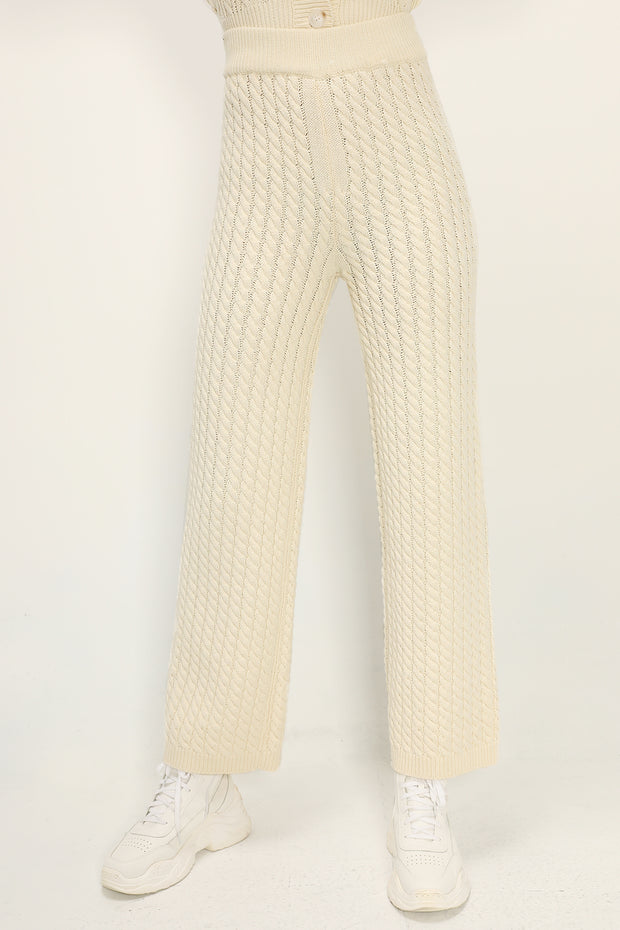 storets.com Mabel Cable Knitted Pants