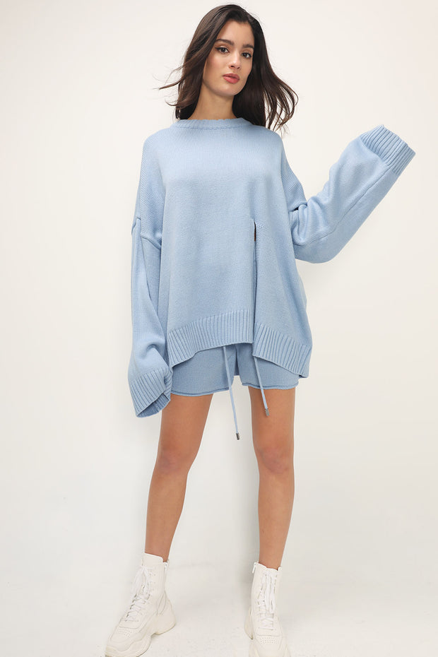storets.com Heaven Slit Knit 2-Piece Set