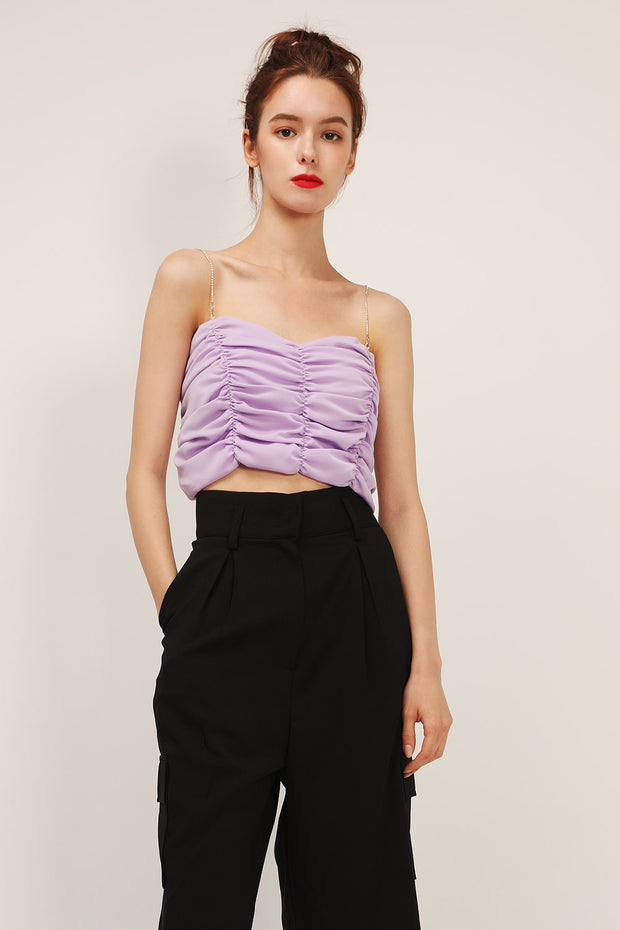 storets.com Iris Cinched Crop Top