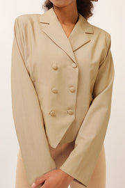storets.com Avery Double Breast Crop Jacket