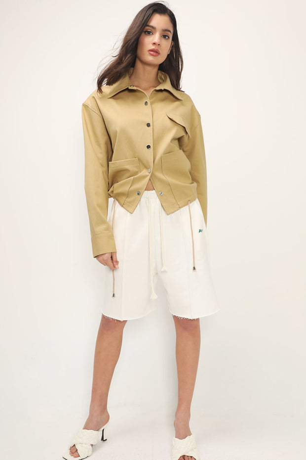storets.com Demi Overisized Safari Jacket