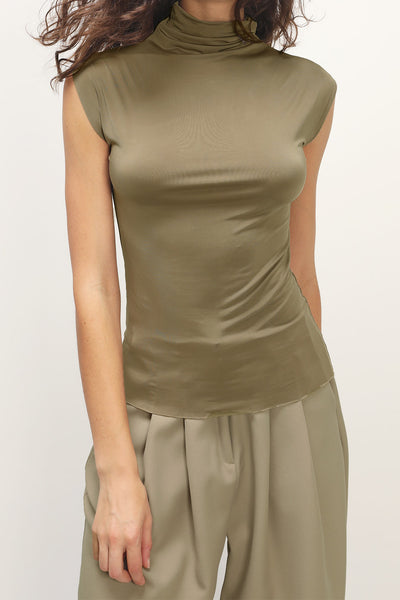 storets.com Milani Turtle Neck Sleeveless Top