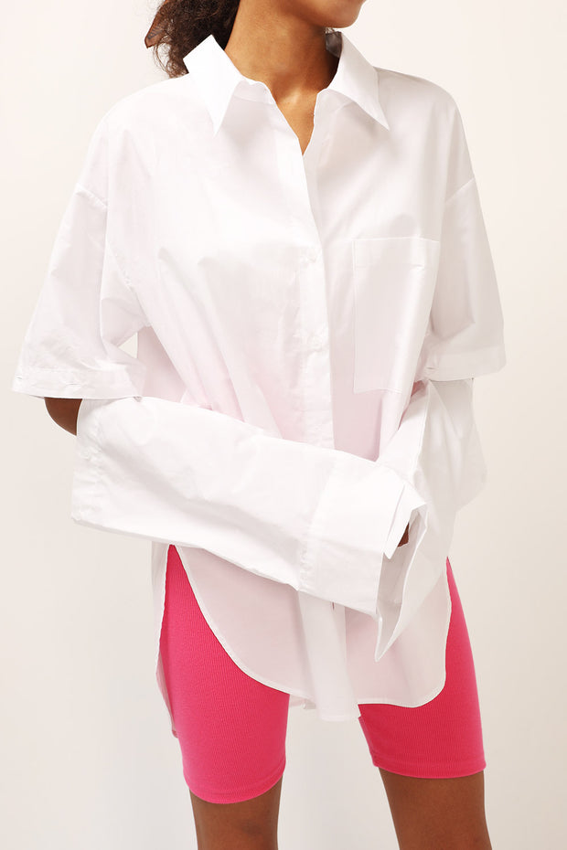 storets.com Kylie Detachable Sleeve Shirt