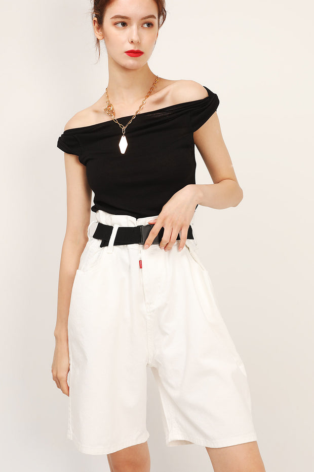storets.com Lydia Twist Shoulder Top