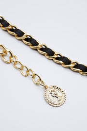 storets.com Coin Decor Chain Belt