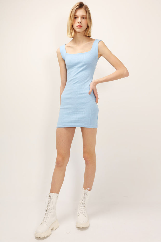 storets.com Macy Fitted Sleeveless Dress