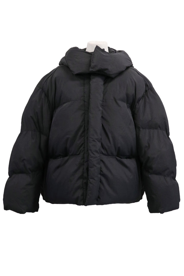 storets.com Teagan Cropped Hoodie Puffer Jacket