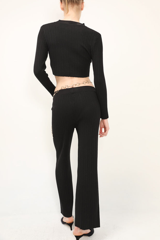 storets.com Kate Crop Top And Pants Set
