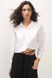 storets.com Nylah Cropped Pocket Shirt
