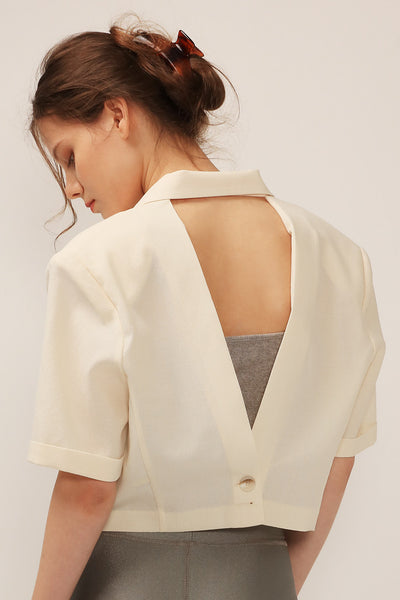 Whitley Cutout Back Jacket