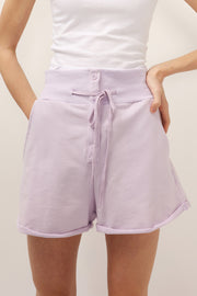 Lexi Drawstring Sweat Shorts