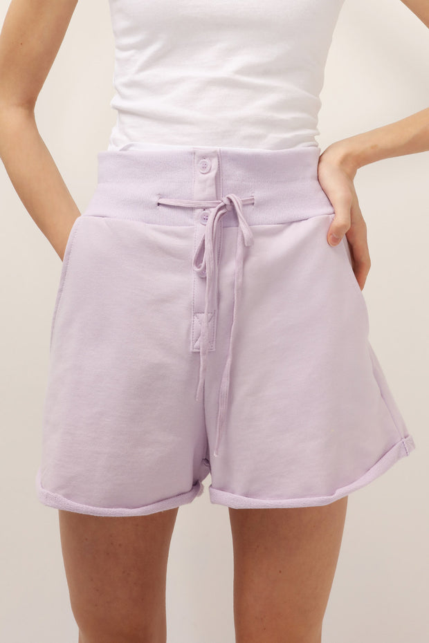 storets.com Lexi Drawstring Sweat Shorts