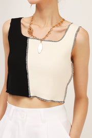 storets.com Emery Color Block Crop Top