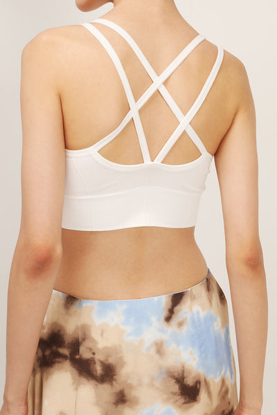 storets.com Bailey String Back Bustier Top