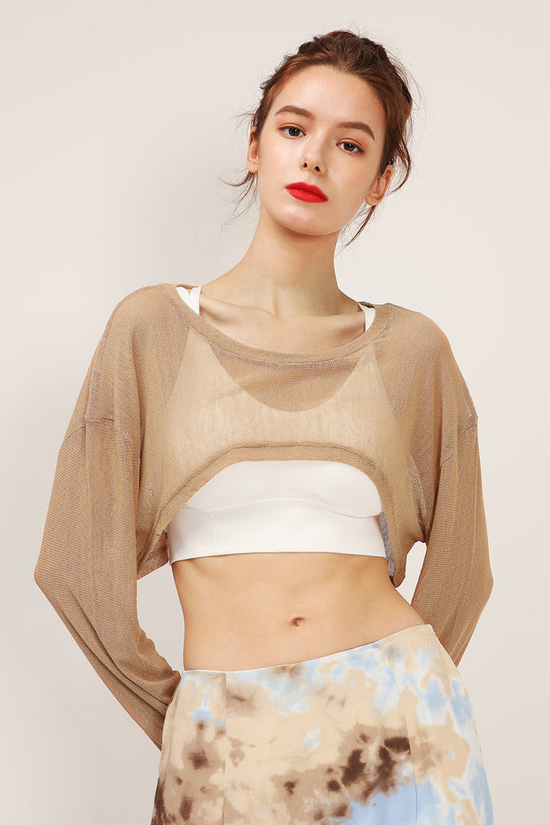 storets.com Ava Super Cropped Mesh Top