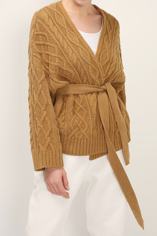 storets.com Autumn Cable Knit Cardigan