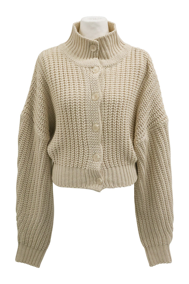 Amaya Ribbed Knit Cardigan