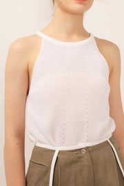 storets.com Lillian Knit Halter Top