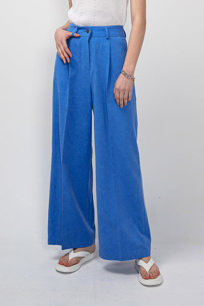 Harper Pintuck Waist Wide Leg Pants