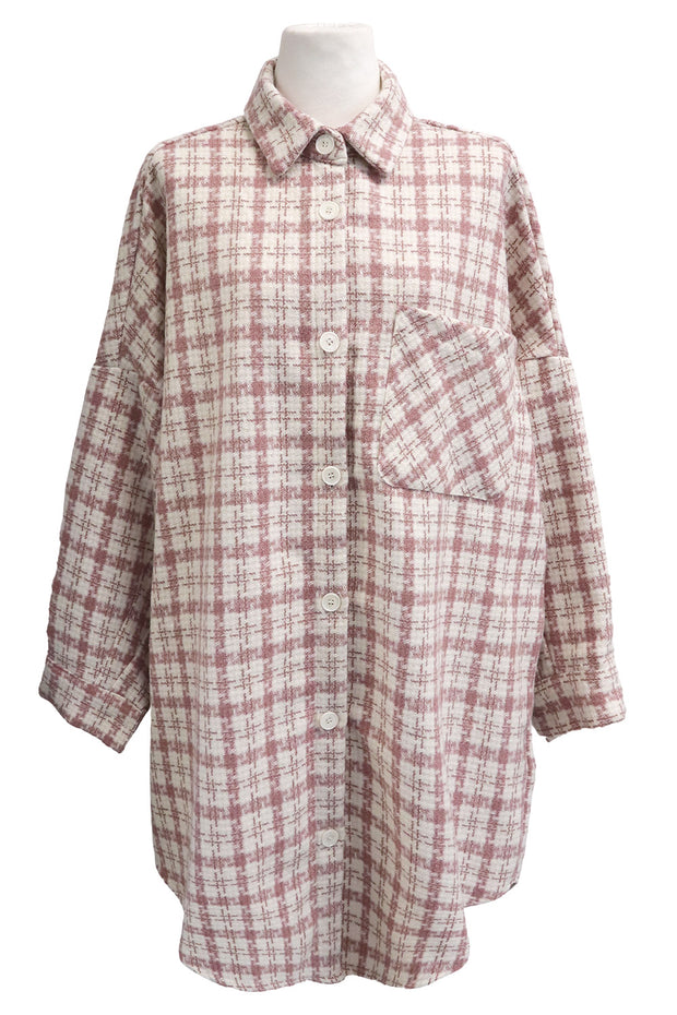 storets.com Hope Tweed Shirt Jacket