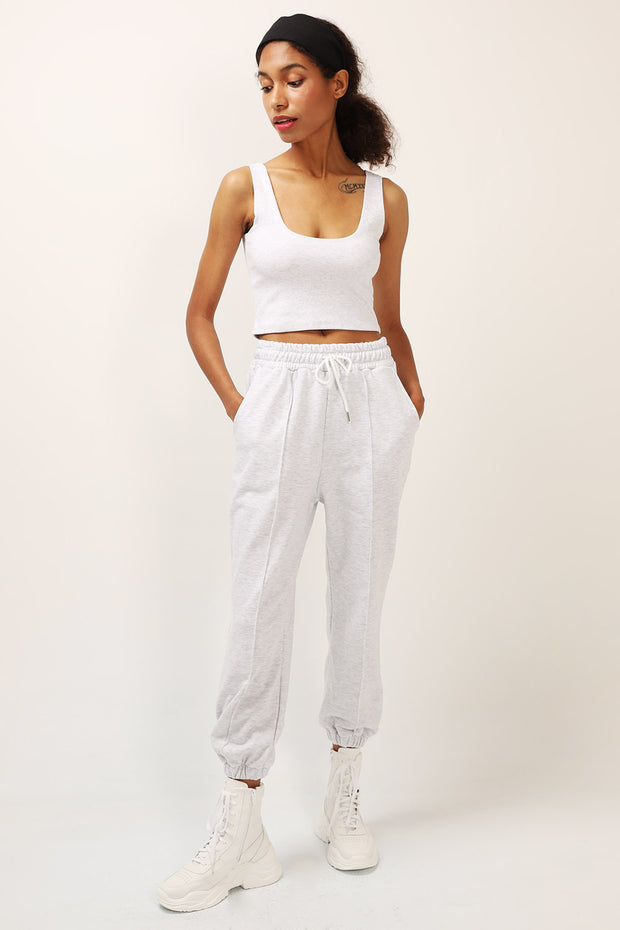 storets.com Julie Piping Front Joggers