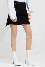 Jenia Lace Up Skirt