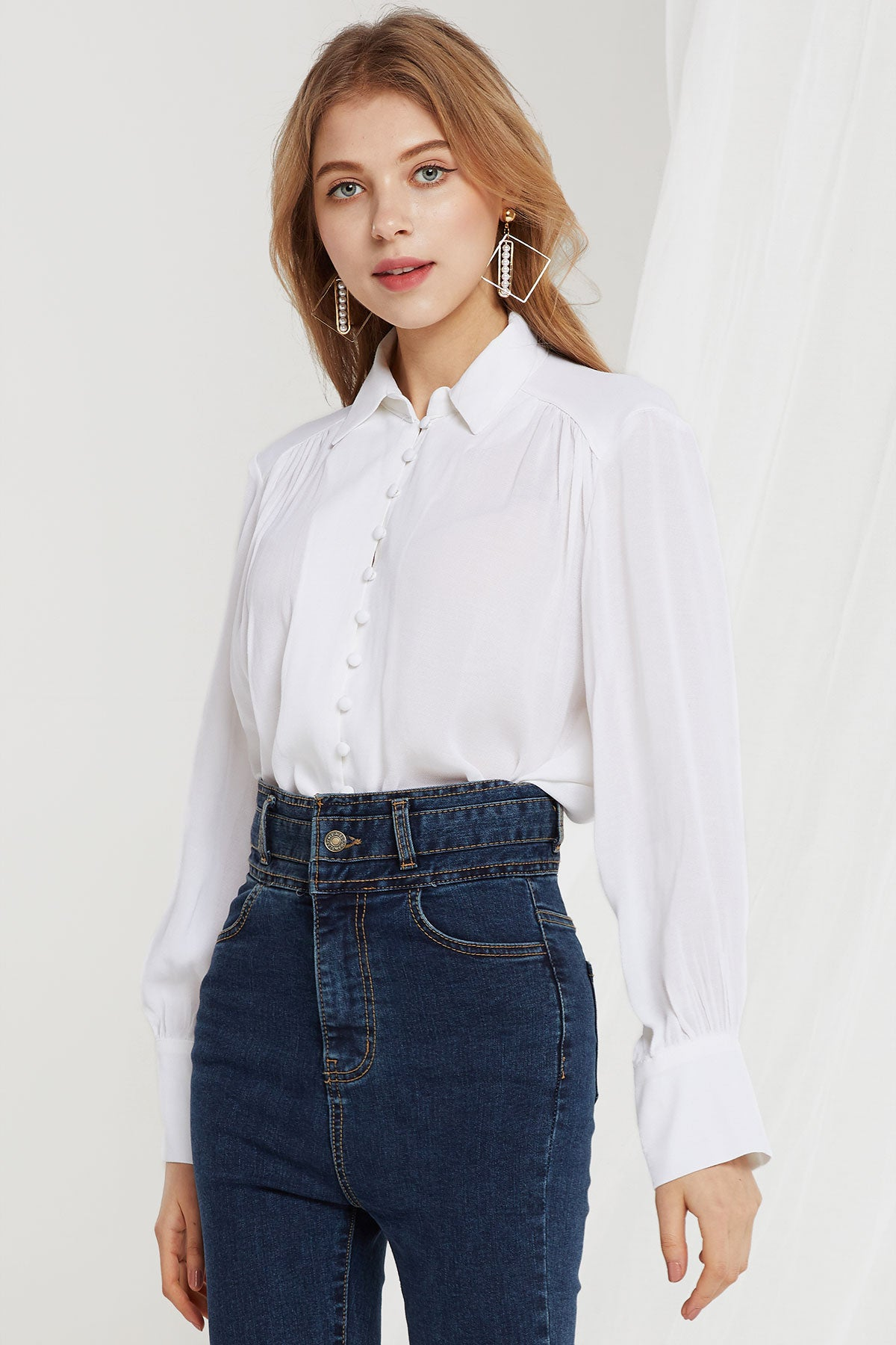 Kiersten Button Down Blouse
