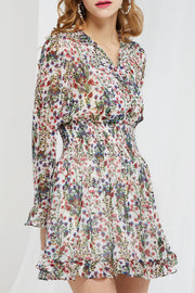 Leslie Garden Flower Smocked Dress