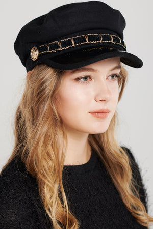 Link Lined Newsboy Cap