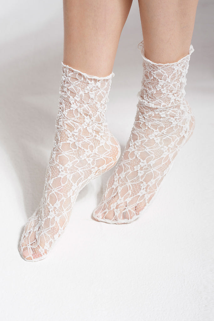 Lovely Whole Lace Socks