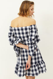 Felicity Off-the-shoulder Dress