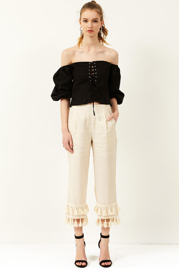 Viviana Corset Off-the-Shoulder Top