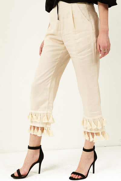 Zoe Tiered Tassel Pants