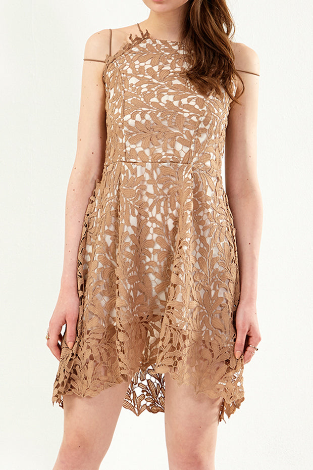 Melissa Lace Sleeveless Dress