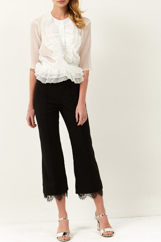 Kelly Lace Hemline Pants