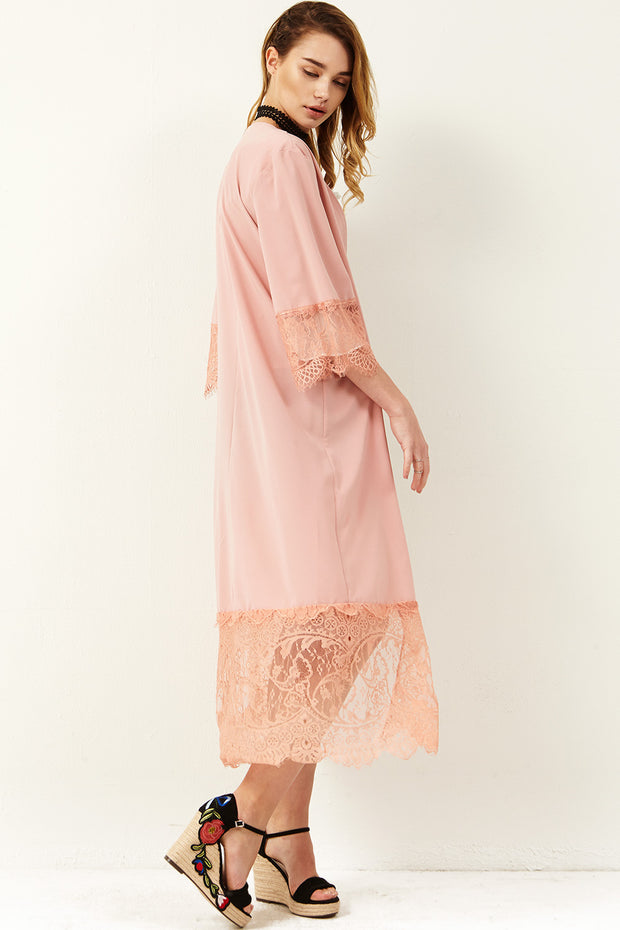 Connie Flower Lace Dress
