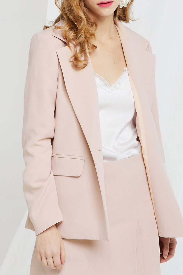 Madelyn Wide Notch Lapel Jacket