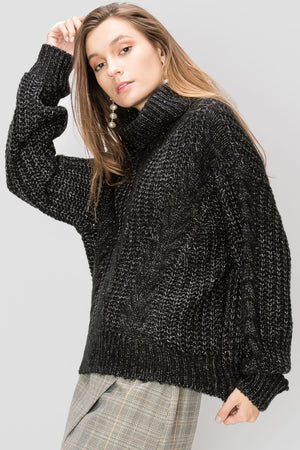 Maude Slouchy Turtleneck