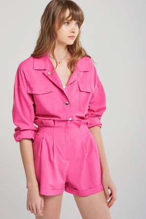 Michelle Hot Pink Two-piece Set