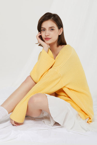 Nana Ribbed Knit Jumper